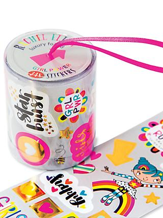 Rachel Ellen Girl Power Stickers Roll