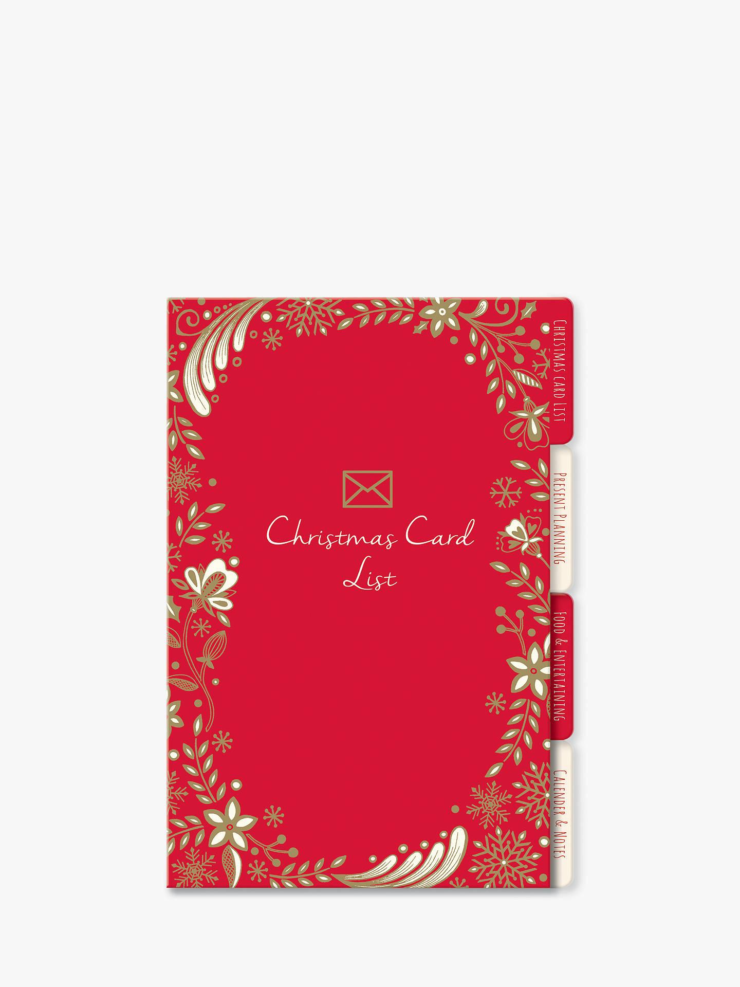 Rachel Ellen A5 Christmas Organiser at John Lewis & Partners