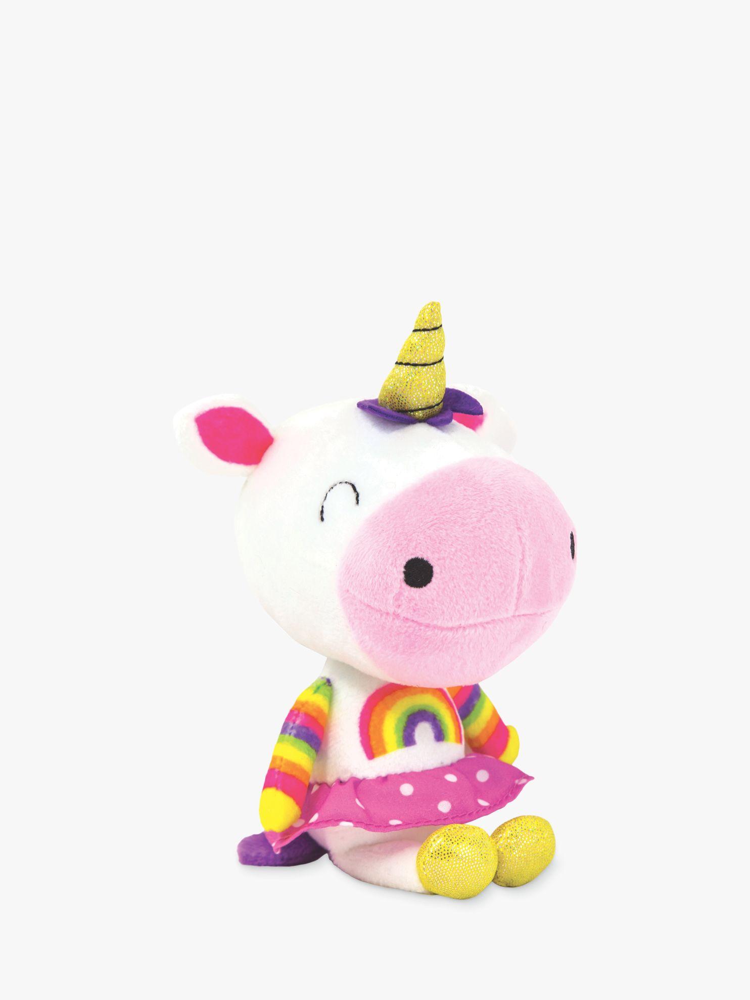 Rachel Ellen Rachel Ellen Lollipop the Unicorn Cuddly Toy