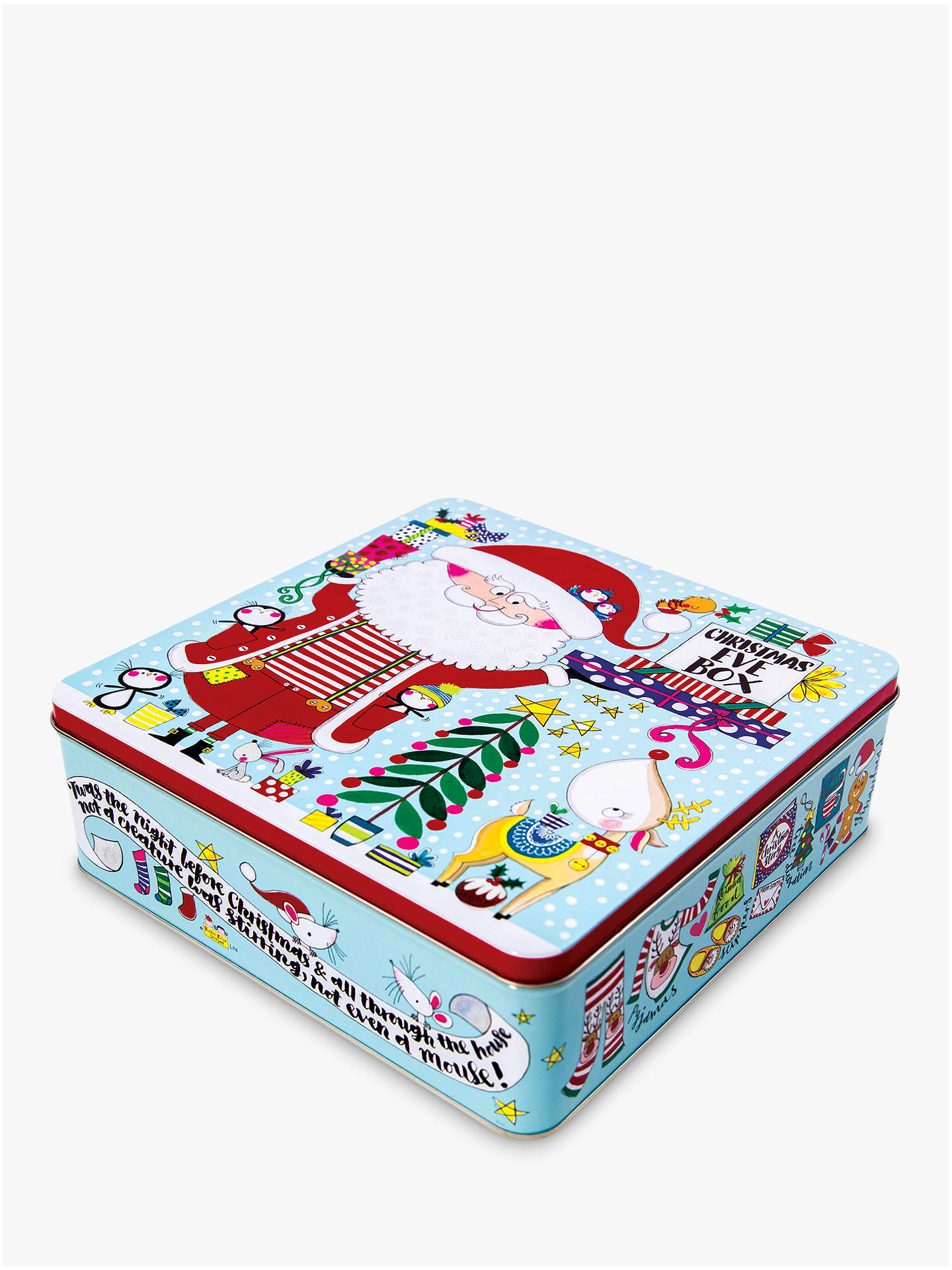 Rachel Ellen Christmas Eve Tin Box at John Lewis & Partners