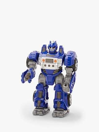 John Lewis & Partners Blue Robot