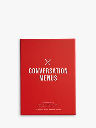 School of Life Conversation Menus Party Game