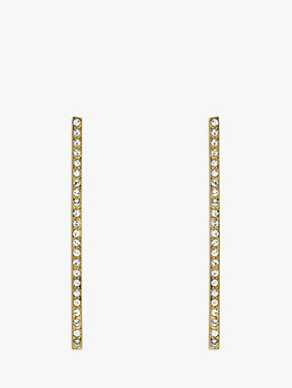 Melissa Odabash Swarovski Crystal Bar Drop Earrings