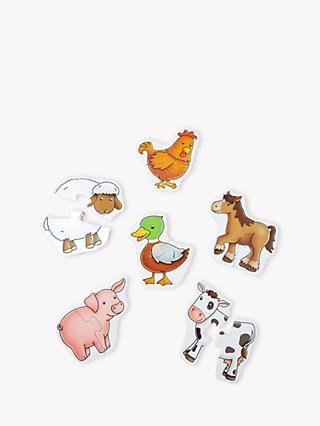 John Lewis & Partners 6 Farm Animal Puzzles