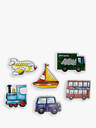 John Lewis & Partners 6 Transport Puzzles