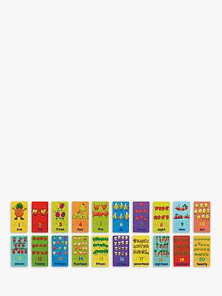 John Lewis & Partners Fruit and Veg Match and Count Game