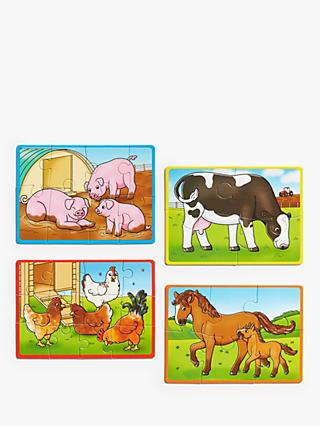 John Lewis & Partners 4 Farm Animal Puzzles