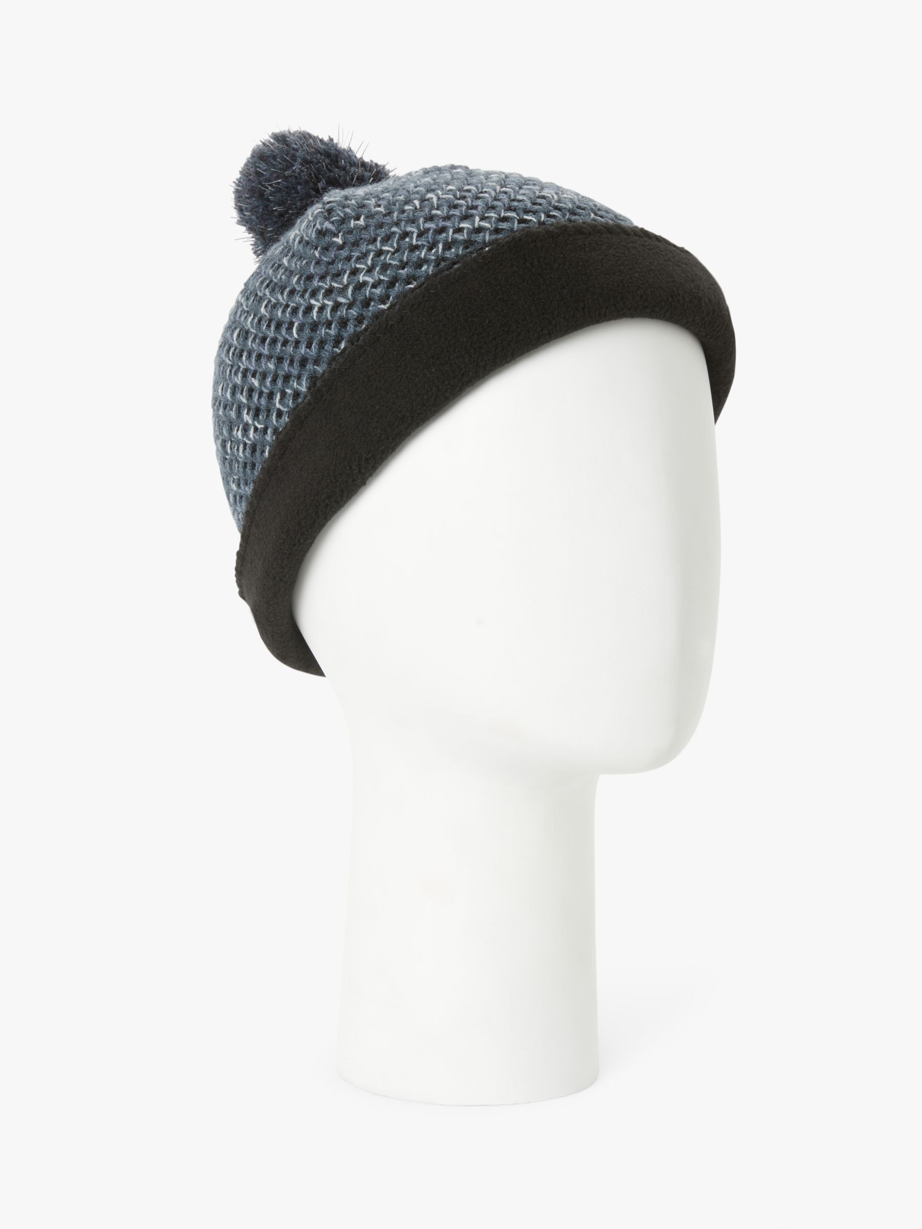 Ronhill Ronhill Bobble Hat, Black/Charcoal