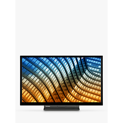 """Image of Toshiba 55UL5A63DB (2019) LED 4K Ultra HD Smart TV, 55"""" with Freeview HD & Freeview Play, Black"""