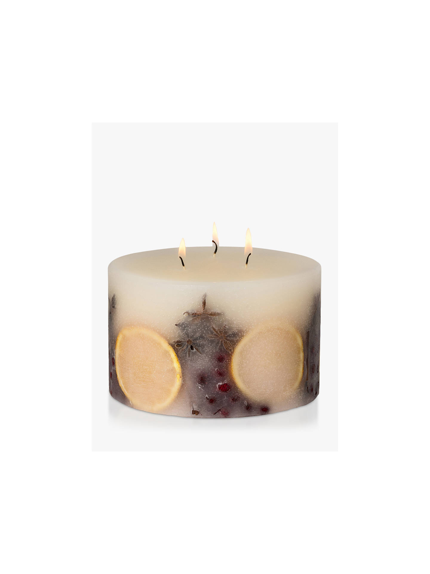 Buy John Lewis & Partners Winter Spice 3 Wick Inclusion Scented Candle, 1.085kg Online at johnlewis.com