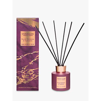 Stoneglow Luna Velvet Gardenia & Tuberose Reed Diffuser, 200ml