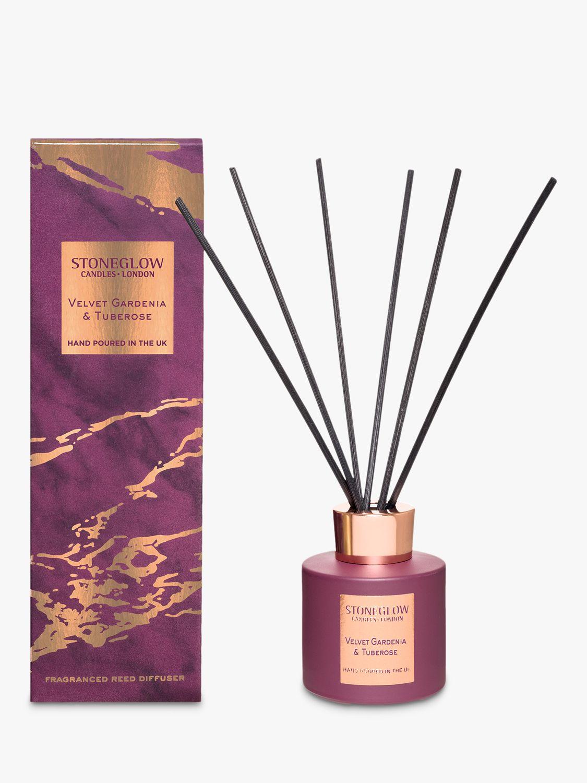 Stoneglow Stoneglow Luna Velvet Gardenia & Tuberose Reed Diffuser, 200ml