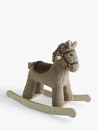 John Lewis & Partners Wooden Rocking Horse