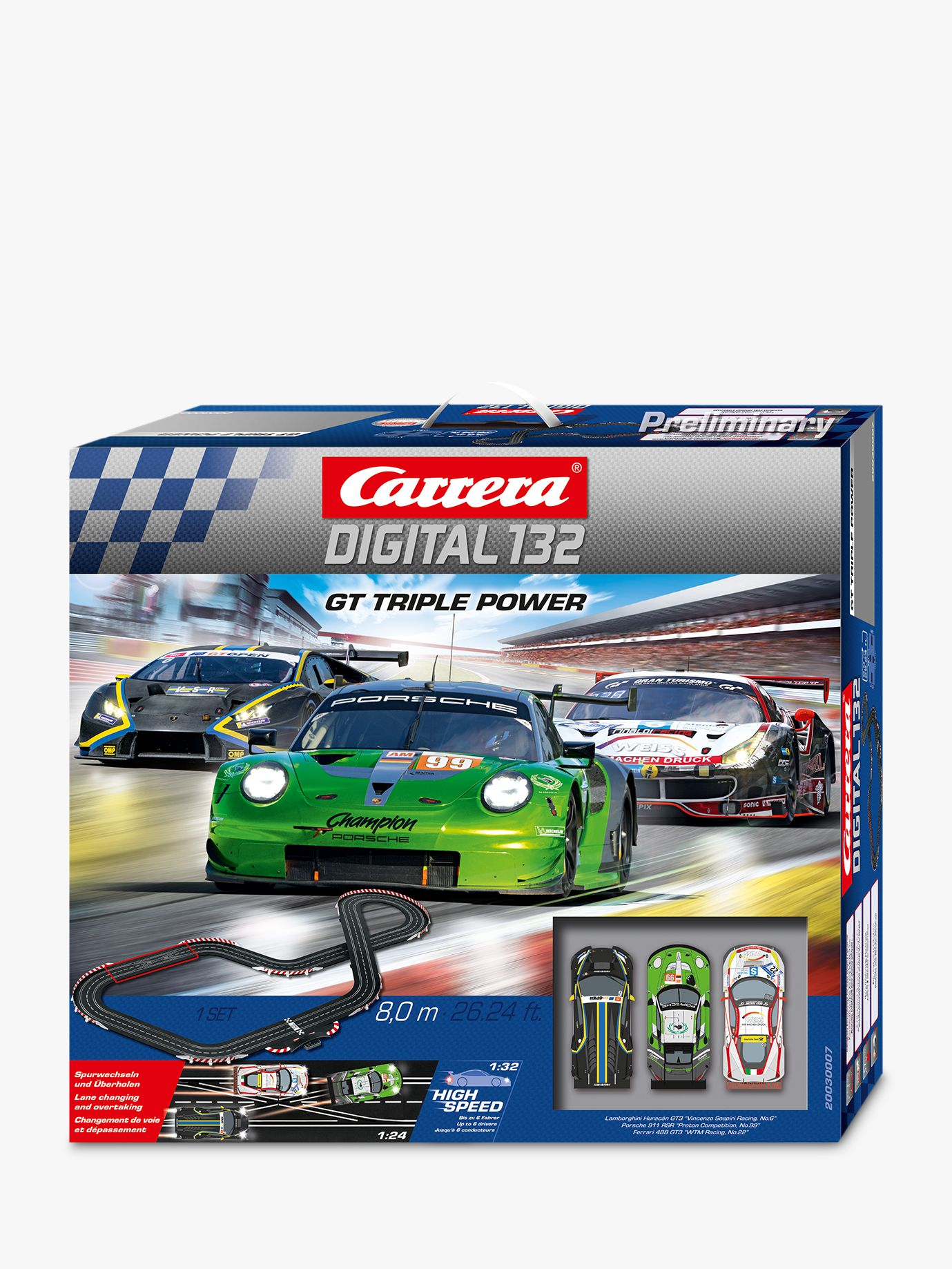 Carrera Carrera GT Triple Power Racing Track and Cars