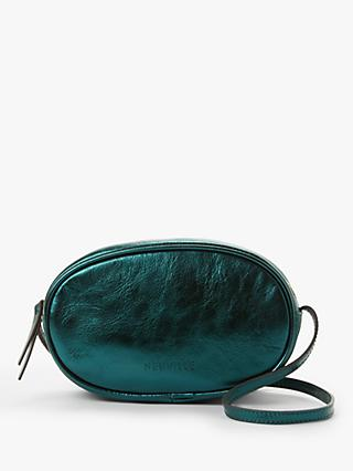 Neuville Ovale Leather Cross Body Bag