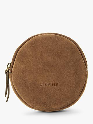 Neuville Lua Suede Circle Purse