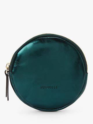 Neuville Lua Leather Circle Purse