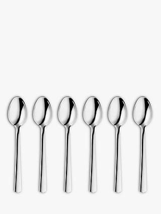 John Lewis & Partners Point Teaspoons, Set of 6