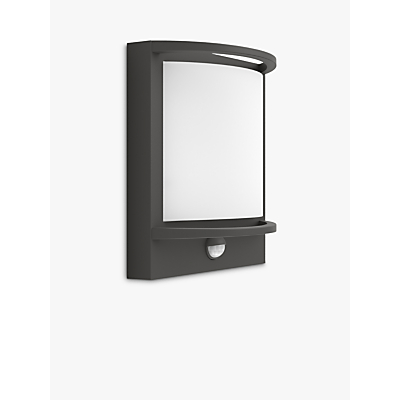 Philips Samondra LED PIR Outdoor Wall Light, Anthracite