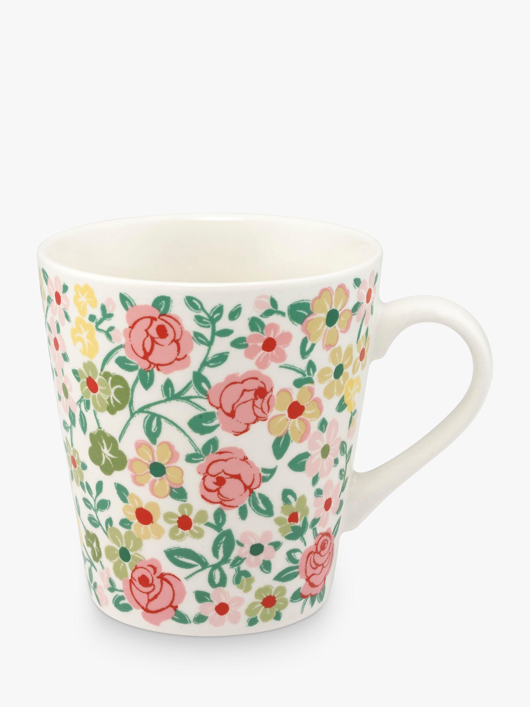 Cath Kidston Cath Kidston Hedge Rose Mini Stanley Mug, 300ml, Multi