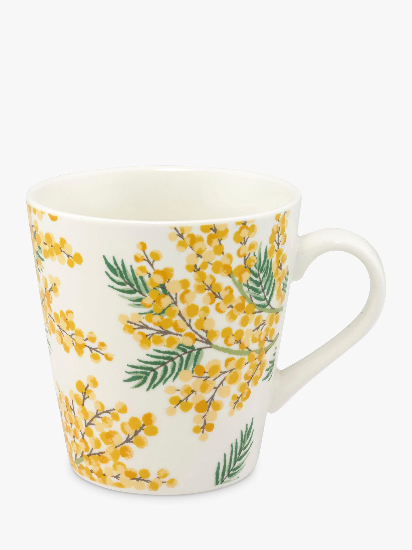 Cath Kidston Cath Kidston Mimosa Mini Stanley Mug, 300ml, Yellow/Multi