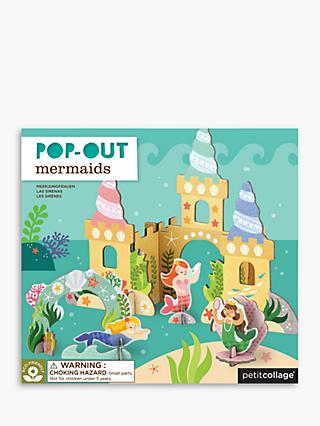 Petit Collage 3D Pop-Out Mermaid Play Set