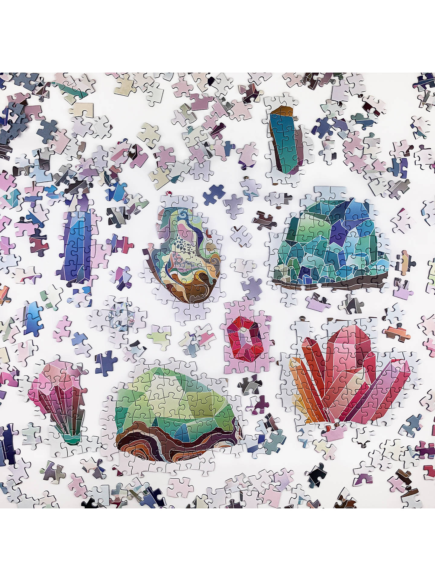 Buy Cloudberries Crystals Jigsaw Puzzle, 1000 Pieces Online at johnlewis.com