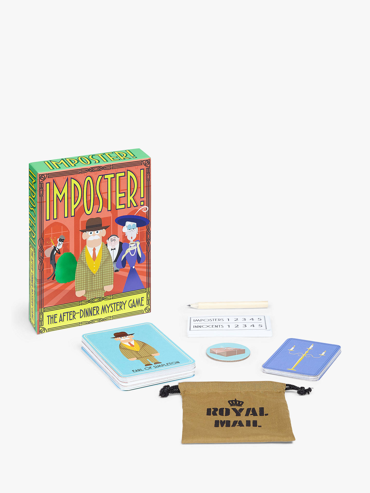 Buy Clarendon Games Imposter! Party Game Online at johnlewis.com