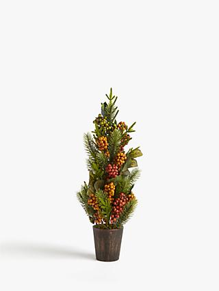 John Lewis & Partners Campfire Berry Table Tree
