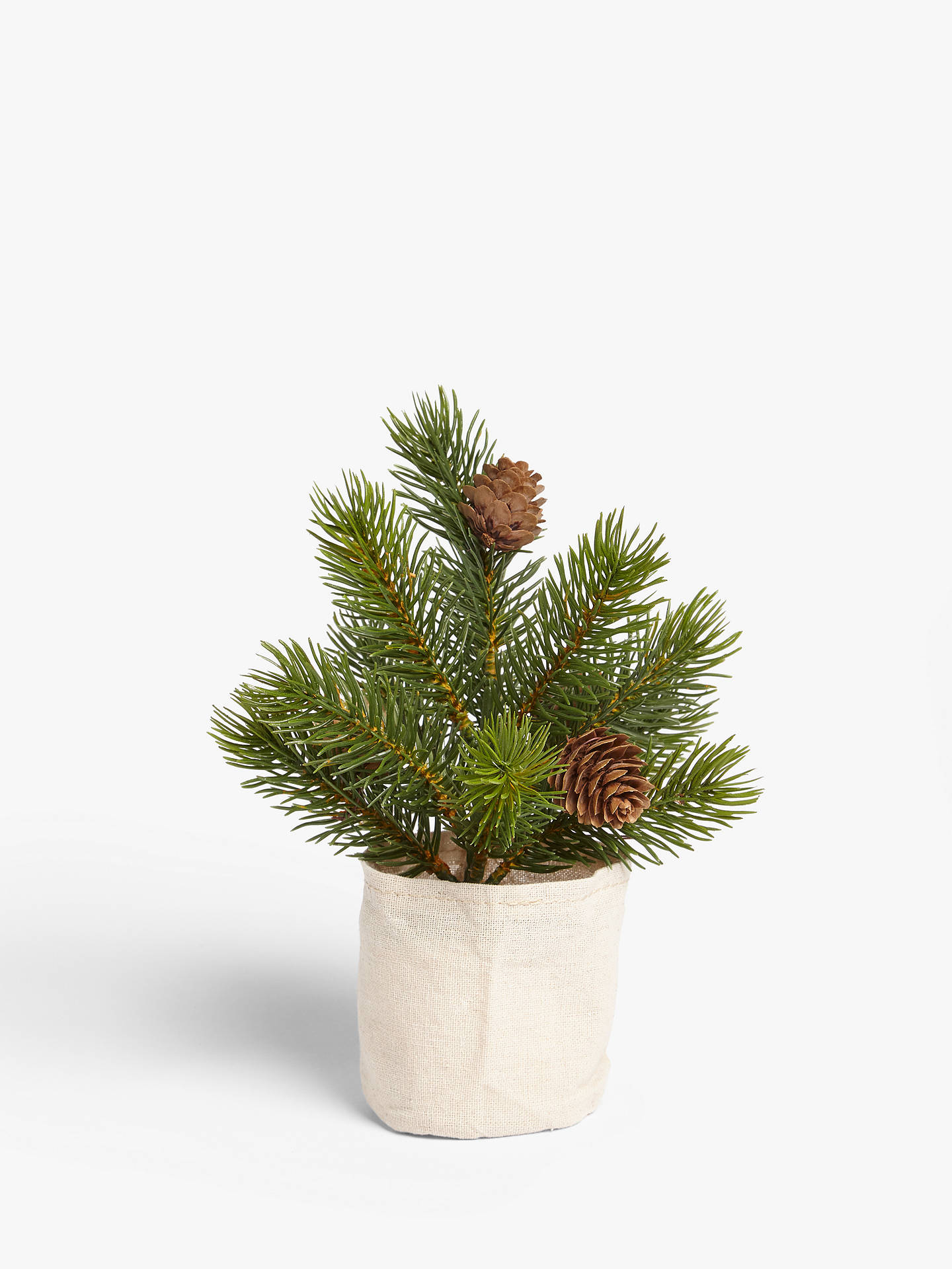 Buy John Lewis & Partners Campfire Mini Tree in Fabric Bag Online at johnlewis.com