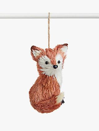John Lewis & Partners Campfire Cecil the Fox Tree Decoration