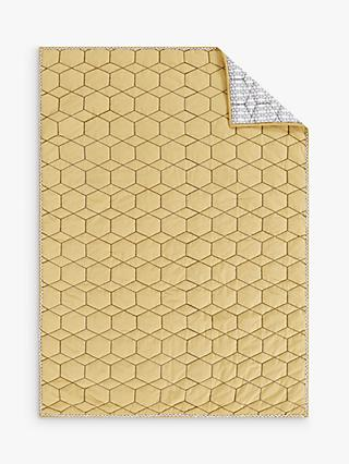 Pottery Barn Kids Organic Honeycomb Quilted Baby Blanket