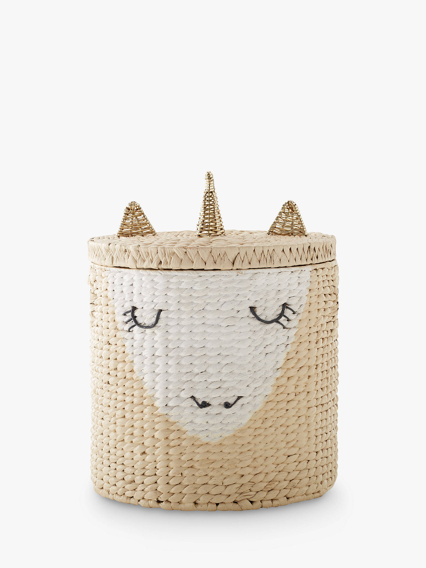 Pottery Barn Kids Unicorn Storage Hamper Neutral At John
