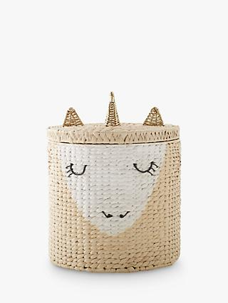 Pottery Barn Kids Unicorn Storage Hamper, Neutral