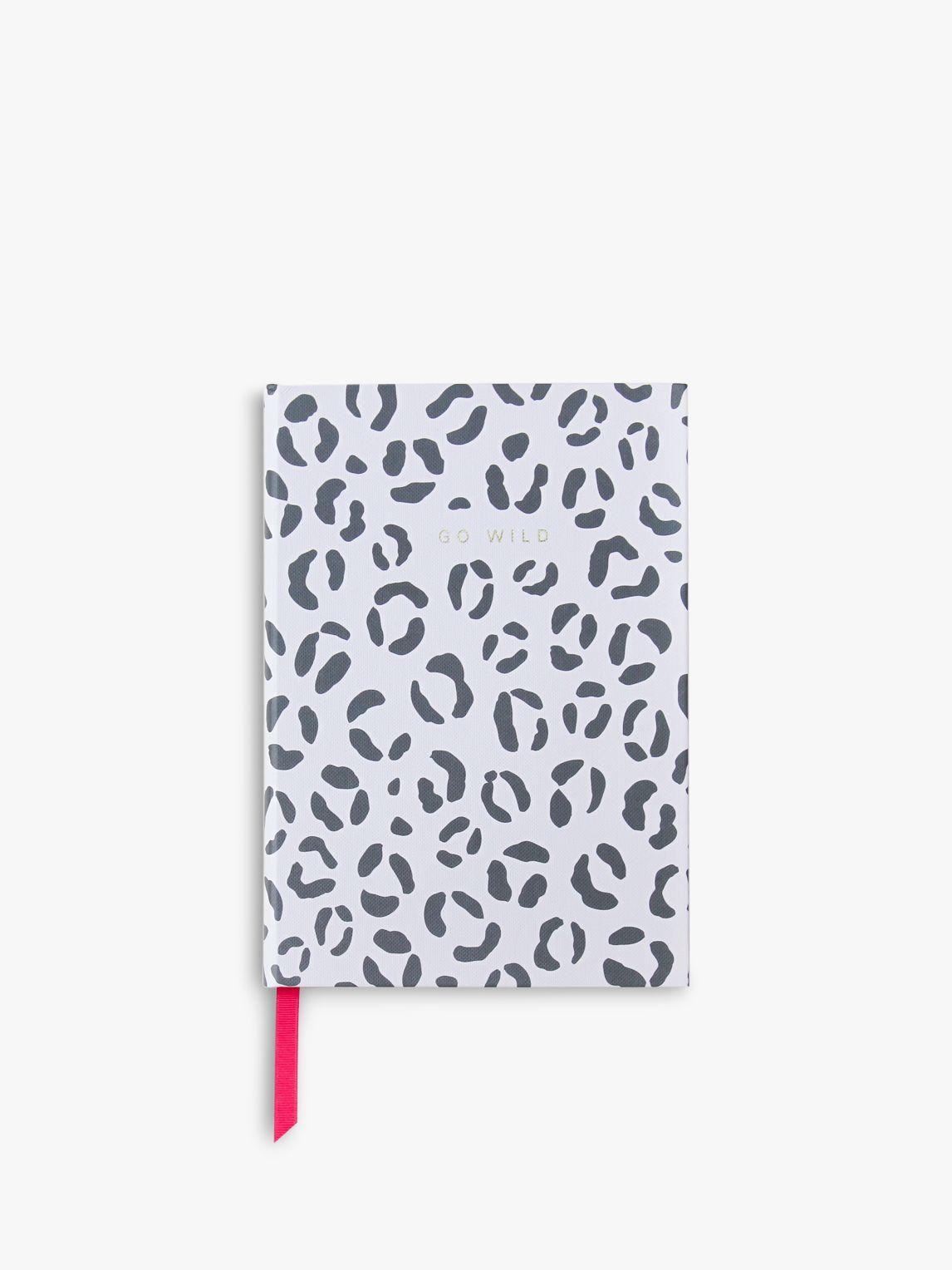 Caroline Gardner Caroline Gardner B5 Hardback Go Wild Leopard Notebook