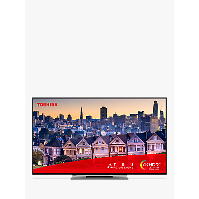 """Image of Toshiba 49UL5A63DB (2019) LED 4K Ultra HD Smart TV, 49"""" with Freeview HD & Freeview Play, Black"""
