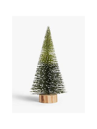 John Lewis & Partners Garden Retreat Conical Christmas Tree Standing Decoration, Medium