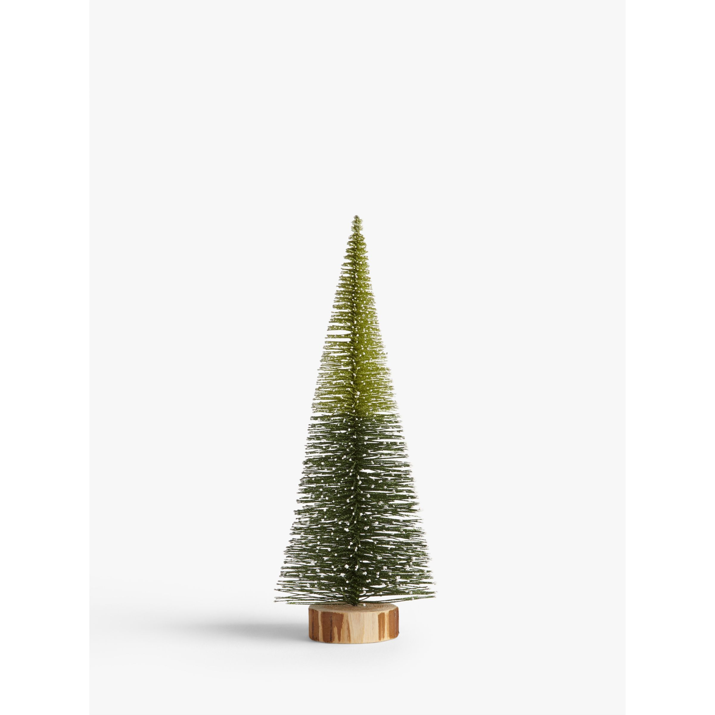 John Lewis Christmas Tree Decorations.John Lewis Partners Garden Retreat Conical Christmas Tree Standing Decoration Small