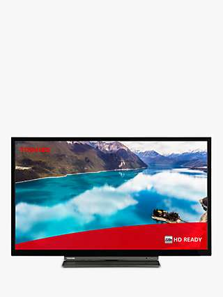 "Toshiba 24WD3A63DB (2019) LED HD Ready 720p Smart TV/DVD Combi, 24"" with Freeview Play, Black"