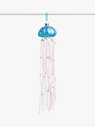 John Lewis & Partners ABC Jellyfish Bauble, Blue