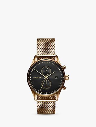 257af6ec MVMT Men's Voyager Chronograph Date Mesh Bracelet Strap Watch
