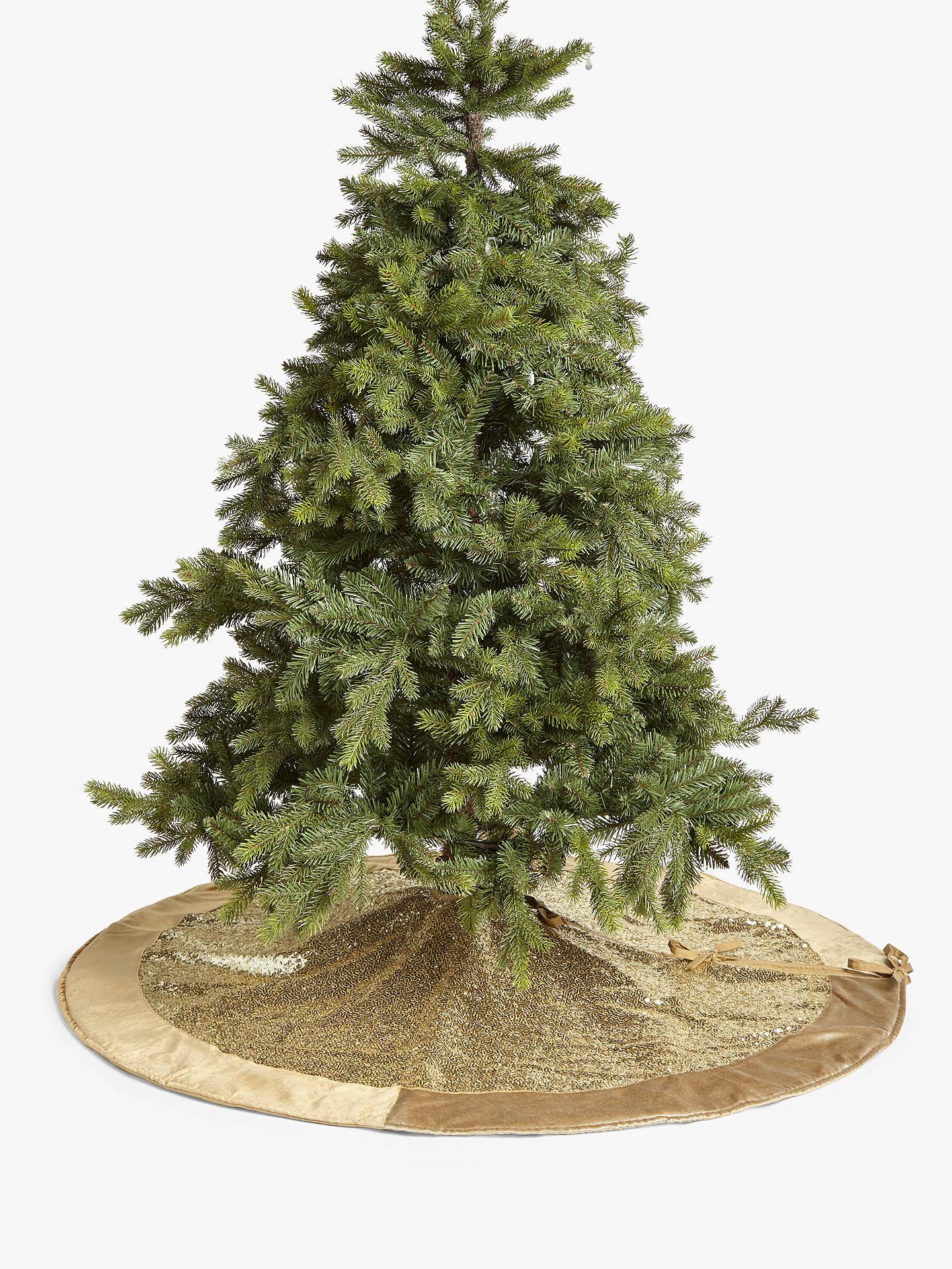 John Lewis Christmas Tree Skirt.John Lewis Partners Sequin Tree Skirt Gold