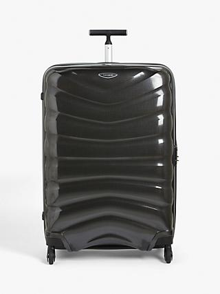 huge discount 5c00b d4923 Samsonite Firelite 4-Wheel 81.5cm Large Case, Charcoal