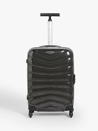 6fc669449 Samsonite Firelite 4-Wheel 55cm Cabin Case, Charcoal