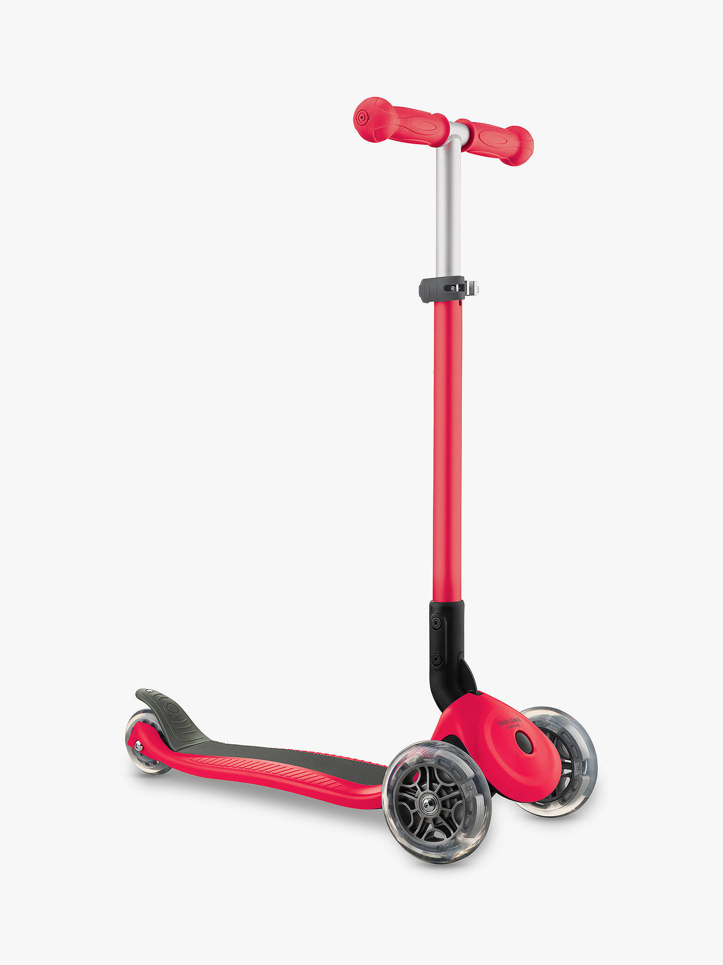 Buy John Lewis & Partners Deluxe Scooter, Red Online at johnlewis.com