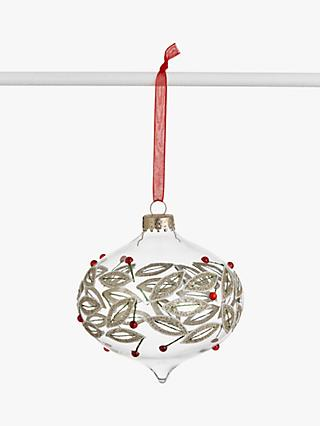 John Lewis & Partners Traditions Berry Onion Bauble, Multi