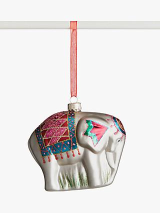 John Lewis & Partners ABC Elephant Bauble, Multi