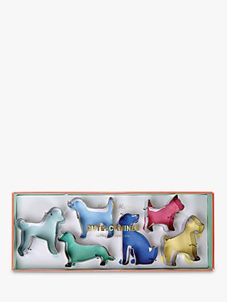 Meri Meri Cute Canines Cookie Cutters, Set of 6, Assorted