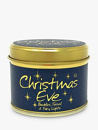 Lily-flame Christmas Eve Mini Scented Tin Candle, 115g