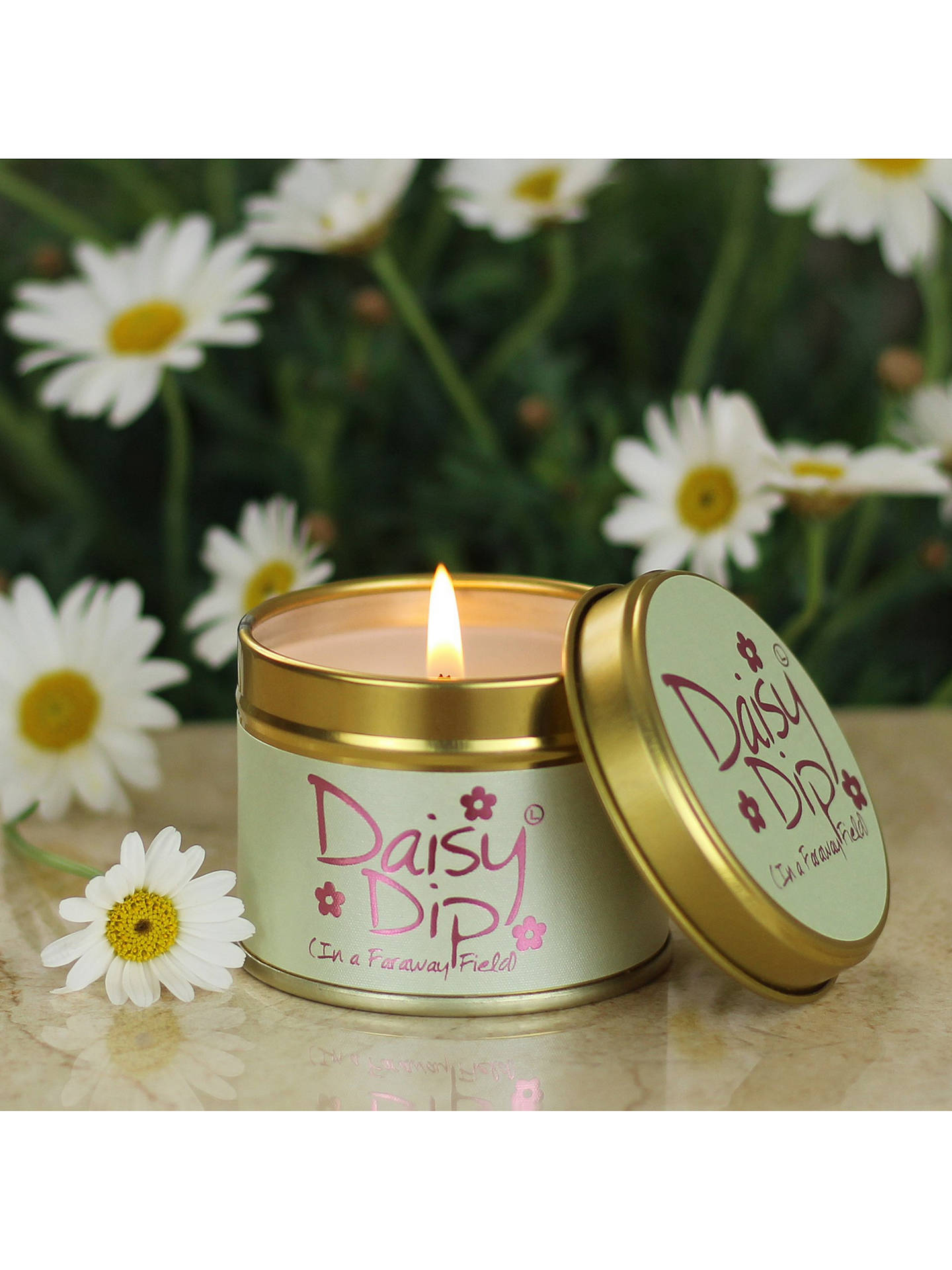 Buy Lily-flame Daisy Dip Mini Scented Tin Candle, 115g Online at johnlewis.com